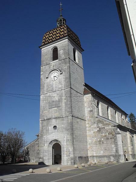 Photo du Monument Historique Eglise de Vercel situé à Vercel-Villedieu-le-Camp