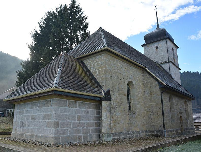 Photo du Monument Historique Chapelle Saint-Joseph-aux-Bassots situé à Villers-le-Lac