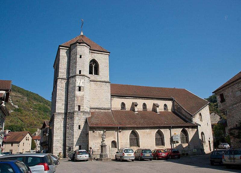 Photo du Monument Historique Eglise situé à Vuillafans