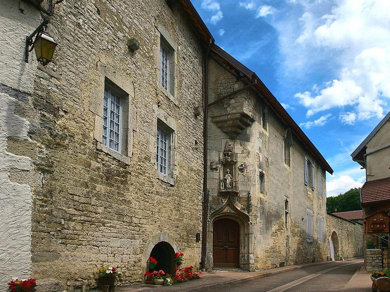 Photo du Monument Historique Maison dite de Balthazar Gérard situé à Vuillafans