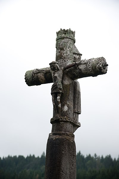 Photo du Monument Historique Croix de la Combille situé à Châtelblanc