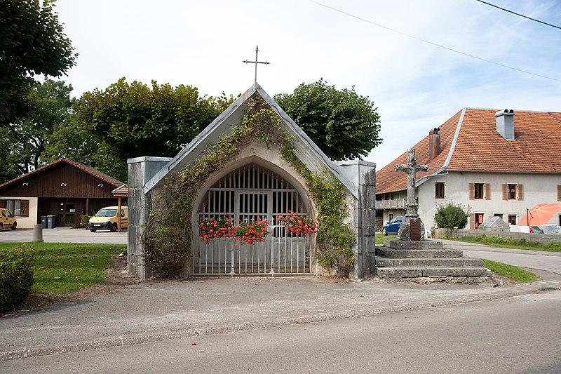 Photo du Monument Historique Croix de la chapelle situé à Goux-les-Usiers