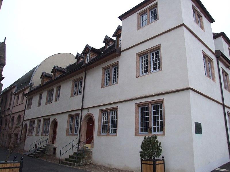 Photo du Monument Historique Université luthérienne situé à Montbéliard