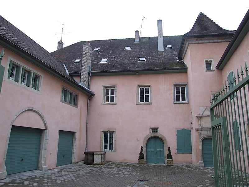 Photo du Monument Historique Hôtel de Franquemont situé à Montbéliard