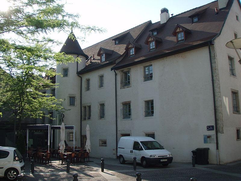 Photo du Monument Historique Ferme de la Souaberie situé à Montbéliard