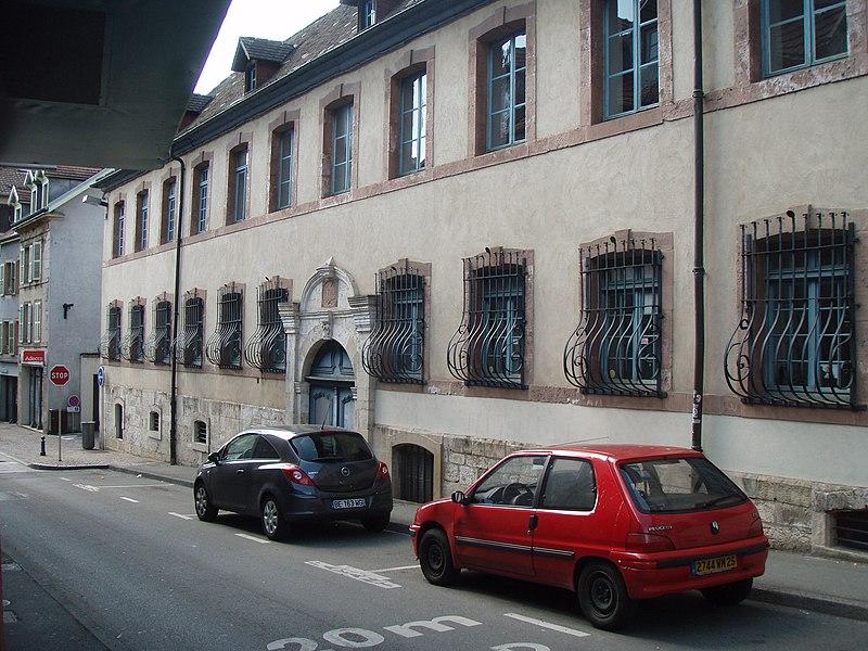 Photo du Monument Historique Hôpital situé à Montbéliard