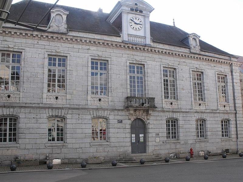 Photo du Monument Historique Bailliage (auditoire et prisons) situé à Baume-les-Dames