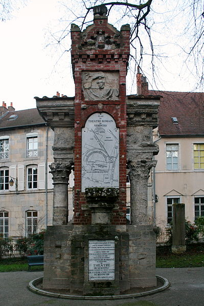 Photo du Monument Historique Vestiges archéologiques (ensemble) situé à Besançon
