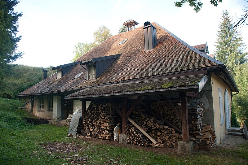Photo du Monument Historique Maison dite La Clouterie situé à Labergement-Sainte-Marie
