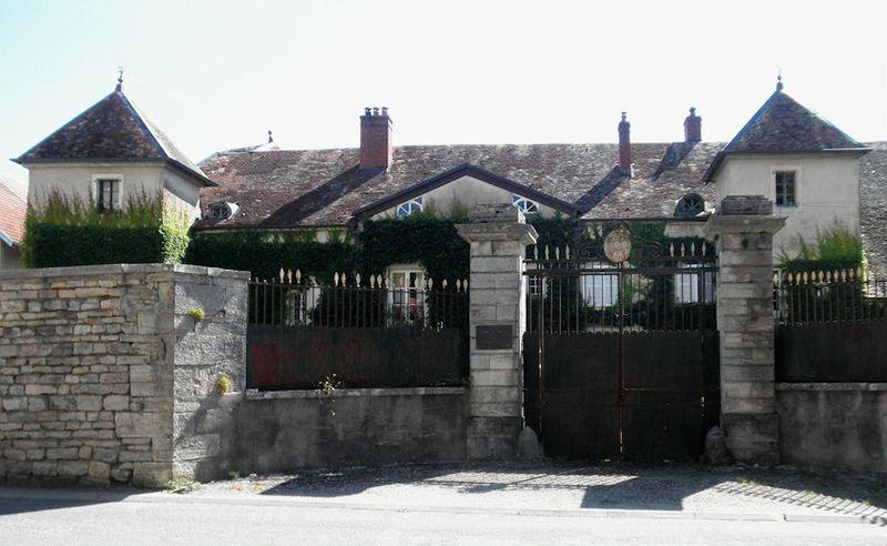 Photo du Monument Historique Château du maréchal Moncey situé à Moncey