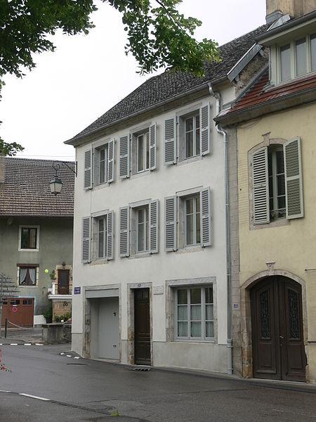 Photo du Monument Historique Immeuble situé à Ornans