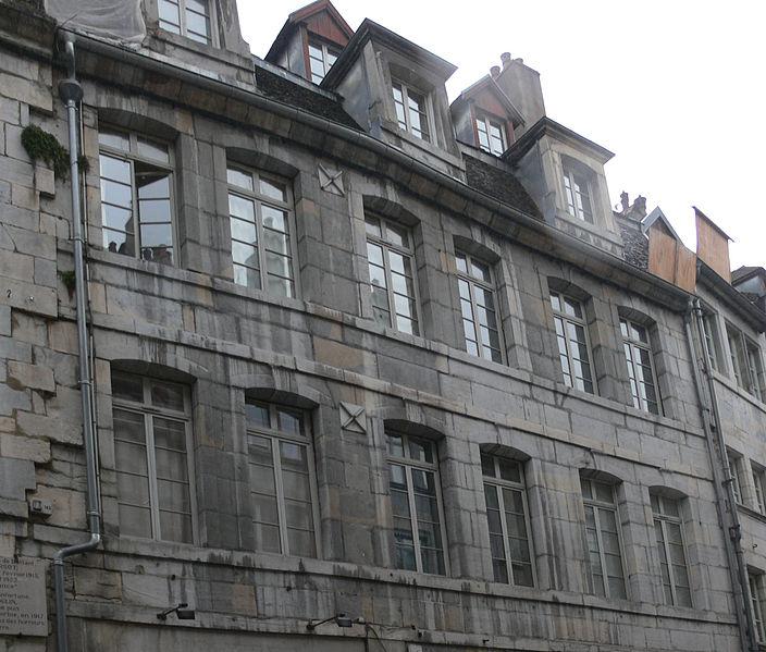 Photo du Monument Historique Hôtel Saint-Pierre situé à Besançon