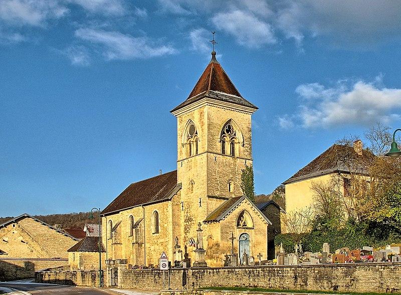 Photo du Monument Historique Eglise situé à Cussey-sur-Lison