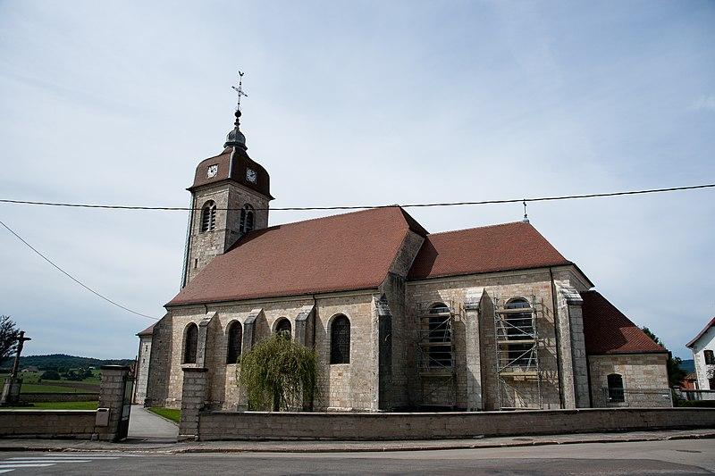 Photo du Monument Historique Eglise Saint-Valère situé à Goux-les-Usiers