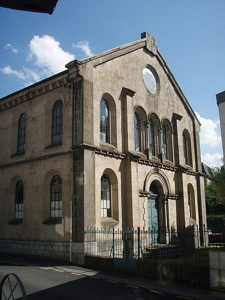 Photo du Monument Historique Synagogue situé à Montbéliard