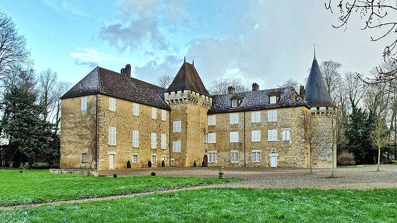 Photo du Monument Historique Château situé à Noironte