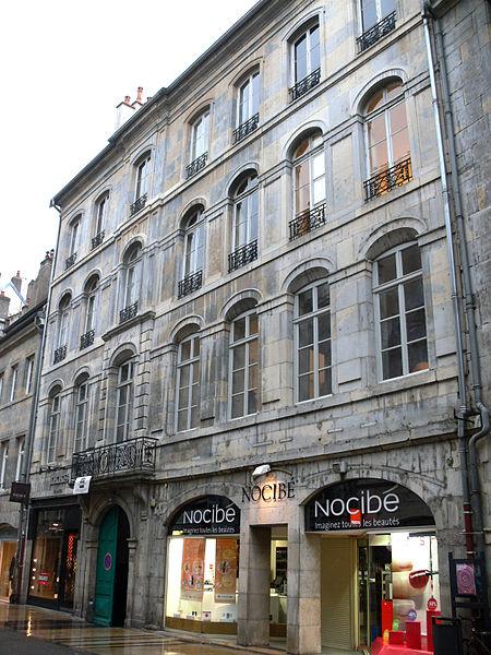 Photo du Monument Historique Hôtel de Maîche situé à Besançon