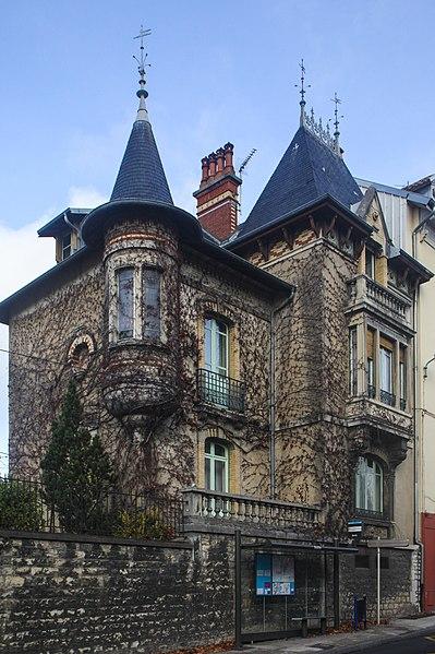Photo du Monument Historique Maison Brigonnet situé à Besançon
