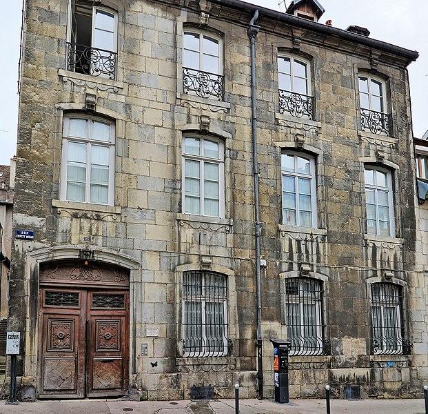 Photo du Monument Historique Hôtel de Sorans situé à Besançon