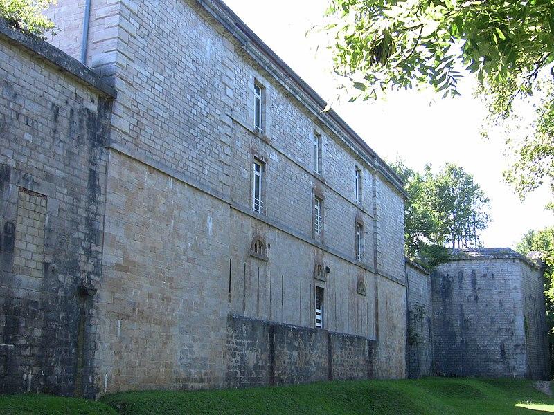 Photo du Monument Historique Fort Chaudanne situé à Besançon