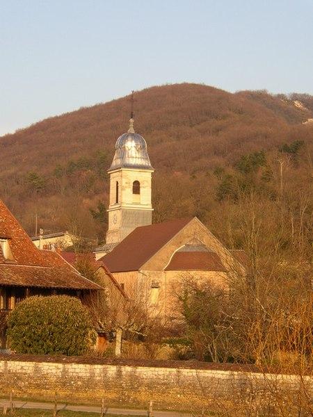 Photo du Monument Historique Eglise d'Avanne situé à Avanne-Aveney