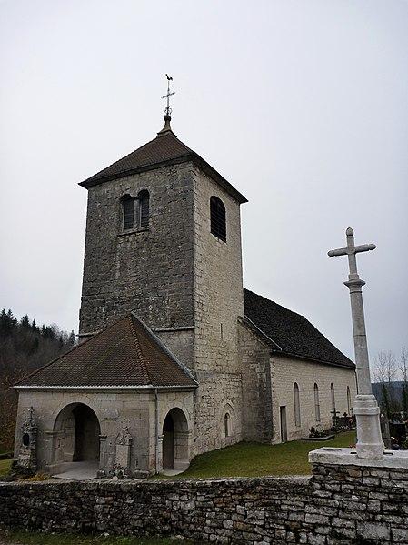 Photo du Monument Historique Eglise Saint-Maurice de Fessevillers situé à Fessevillers