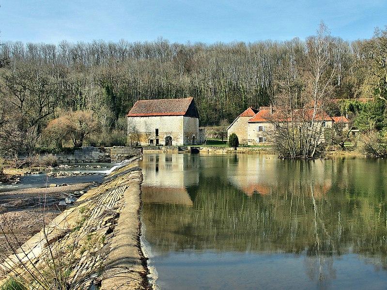 Photo du Monument Historique Forge de Montagney situé à Montagney-Servigney