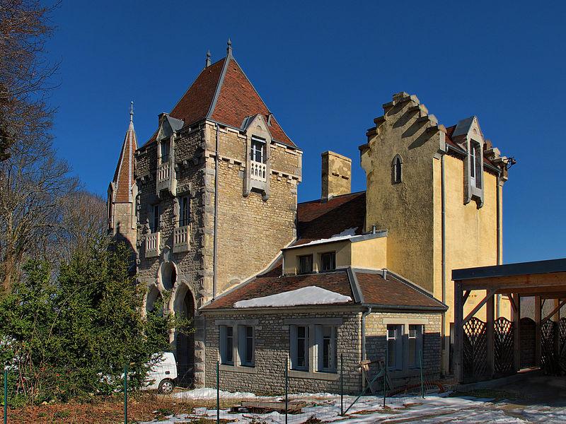 Photo du Monument Historique Demeure dite Château de la Juive situé à Chalezeule