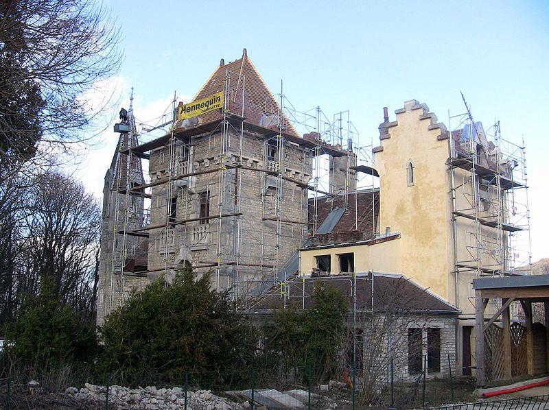 """Photo du Monument Historique Demeure dite """"Château de la Juive"""" situé à Chalezeule"""