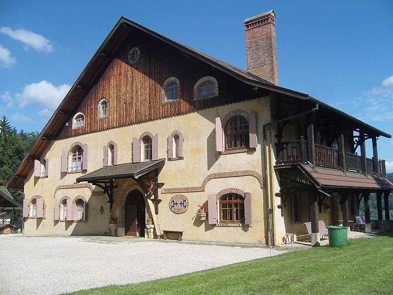 Photo du Monument Historique Maison de Monte au Lever situé à Les Grangettes