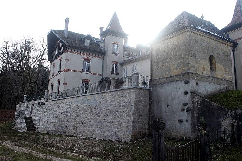 Photo du Monument Historique Demeure de Sandon situé à Pontarlier