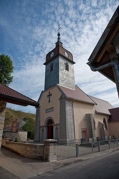Photo du Monument Historique Eglise situé à Saint-Point-Lac