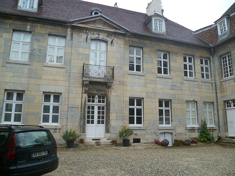 Photo du Monument Historique Hôtel Querret situé à Besançon