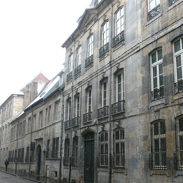 Photo du Monument Historique Hôtel Michotey situé à Besançon