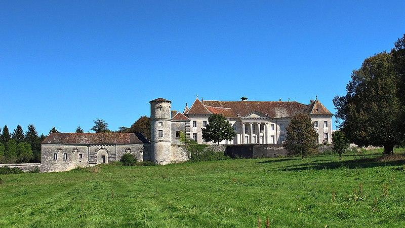 Photo du Monument Historique Château de Moncley situé à Emagny