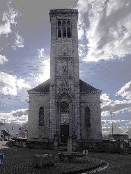 Photo du Monument Historique Eglise de l'Assomption situé à Anteuil