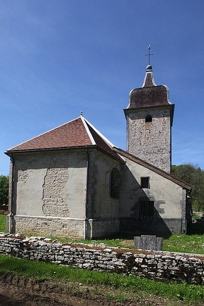 Photo du Monument Historique Eglise Saint-Thiébaud situé à Sainte-Anne