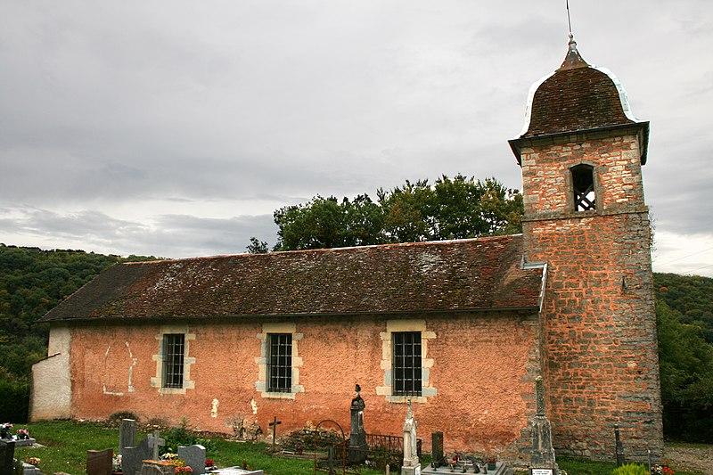 Photo du Monument Historique Eglise de l'Assomption situé à Rancenay