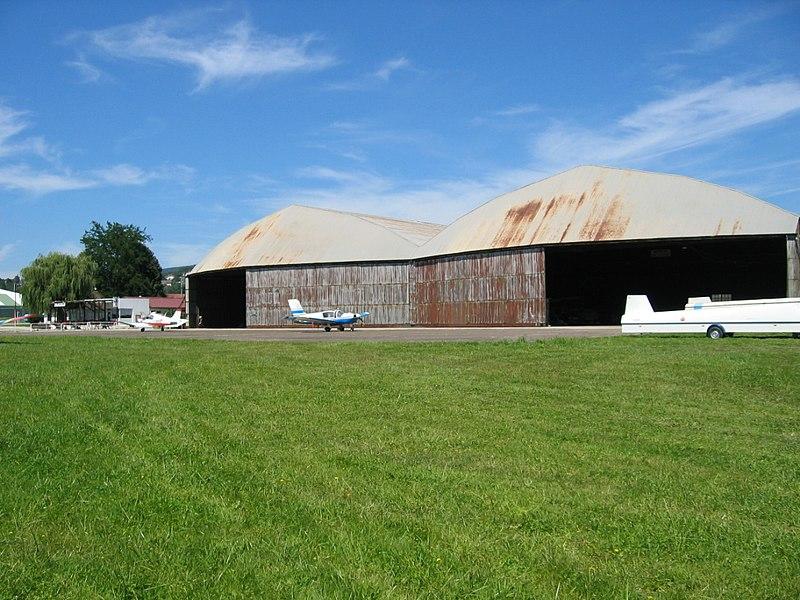 Photo du Monument Historique Aérodrome de Besançon-Thise situé à Thise