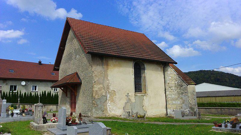 Photo du Monument Historique Chapelle du cimetière situé à Cour-Saint-Maurice