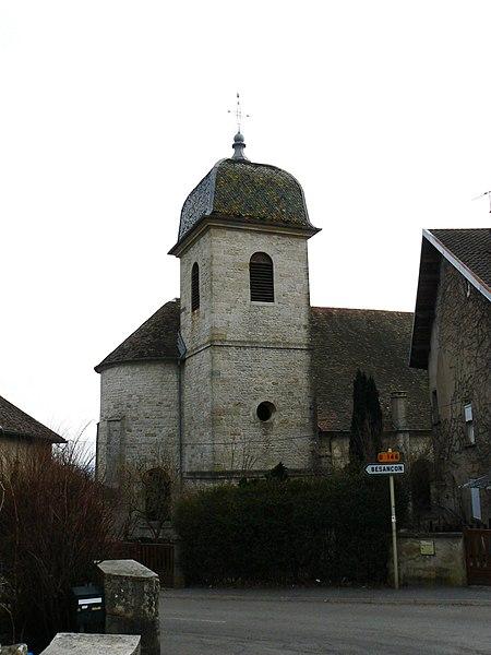 Photo du Monument Historique Eglise paroissiale situé à Montfaucon
