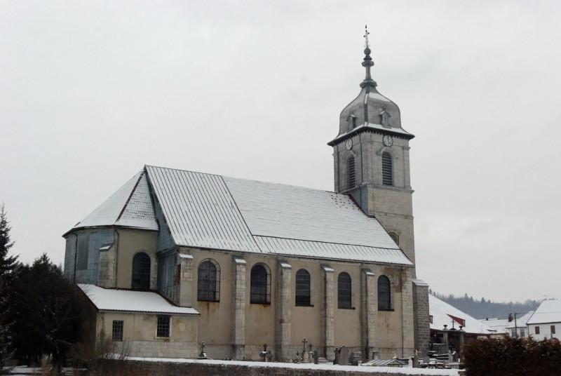 Photo du Monument Historique Eglise paroissiale situé à Mouthe