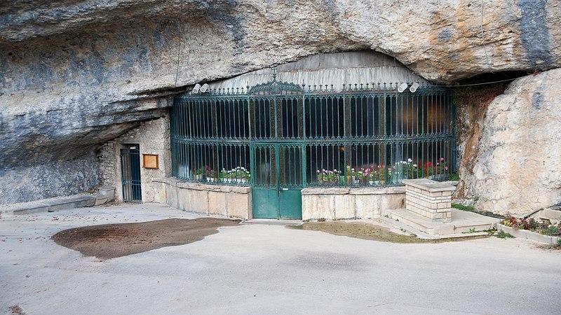 Photo du Monument Historique Grotte-chapelle de Remonot situé à Combes (Les)