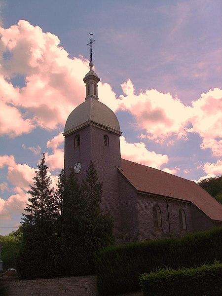 Photo du Monument Historique Eglise paroissiale situé à Gonsans