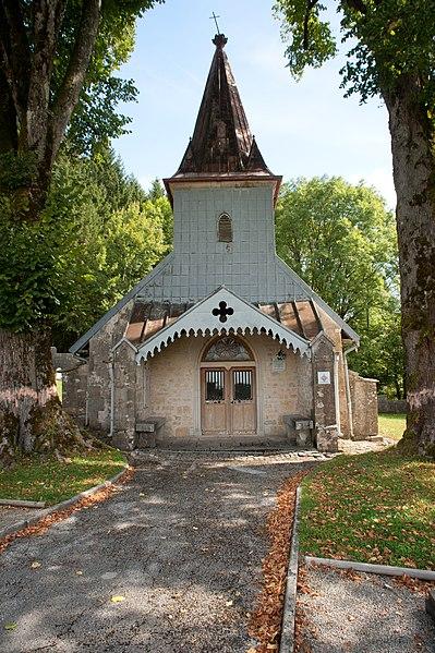 Photo du Monument Historique Chapelle Notre-Dame des Bois situé à Villers-sous-Chalamont