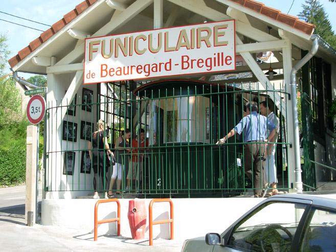 Photo du Monument Historique Funiculaire situé à Besançon