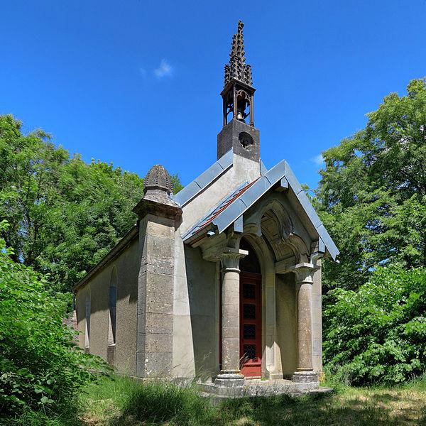 Photo du Monument Historique Chapelle Saint-Ferréol et Saint-Ferjeux situé à Miserey-Salines
