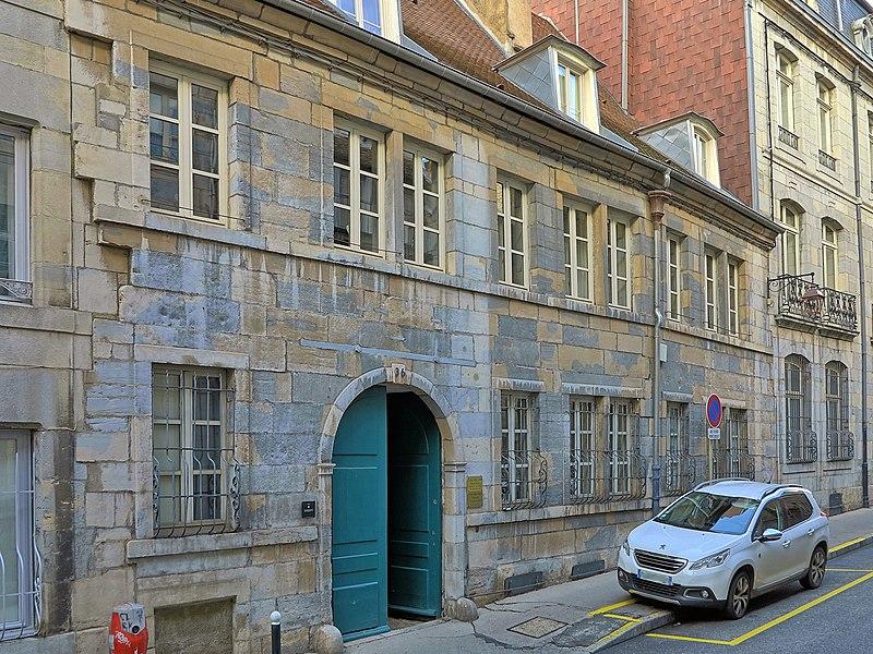 Photo du Monument Historique Demeure situé à Besançon