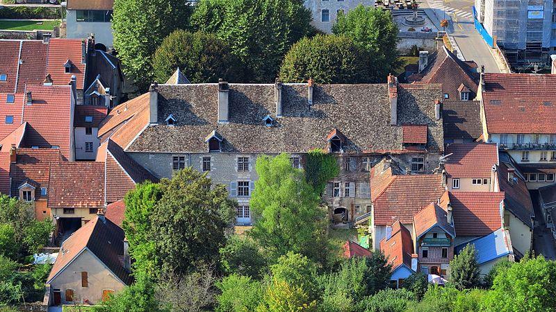 Photo du Monument Historique Maison Granvelle situé à Ornans