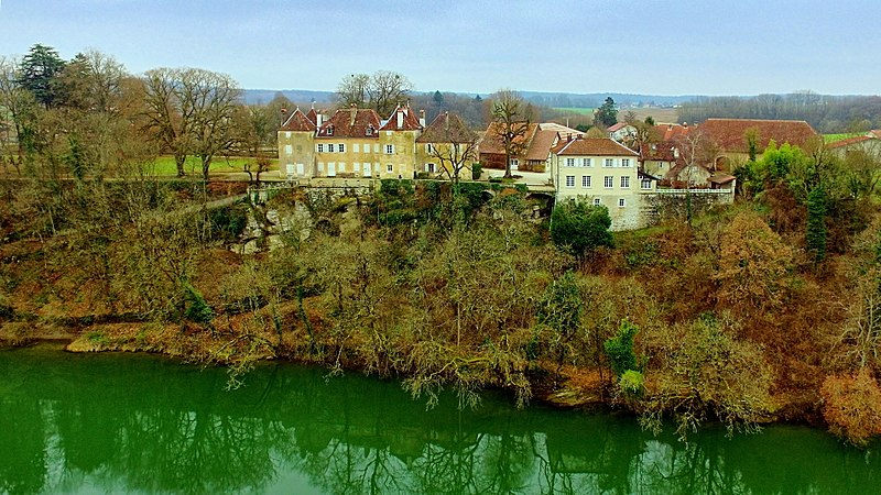 Photo du Monument Historique Château situé à Roset-Fluans